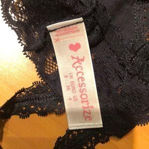 Intimates & Sleepwear - BLACK LACE BRALETTE